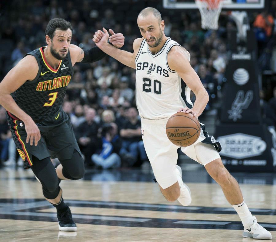 Buen aporte de Ginóbili en la victoria de San Antonio Spurs — NBA
