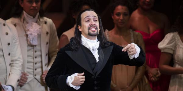"""""""Hamilton"""" es oro teatral"""