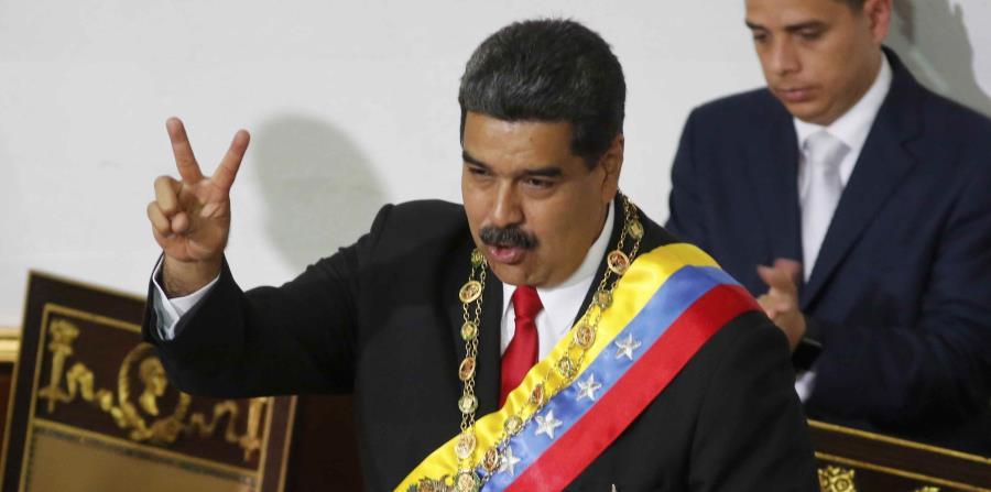 El presidente de Venezuela, Nicolás Maduro, dijo que quien ganó el Mundial en Rusia fue África y no Francia. (Archivo / AP) (horizontal-x3)