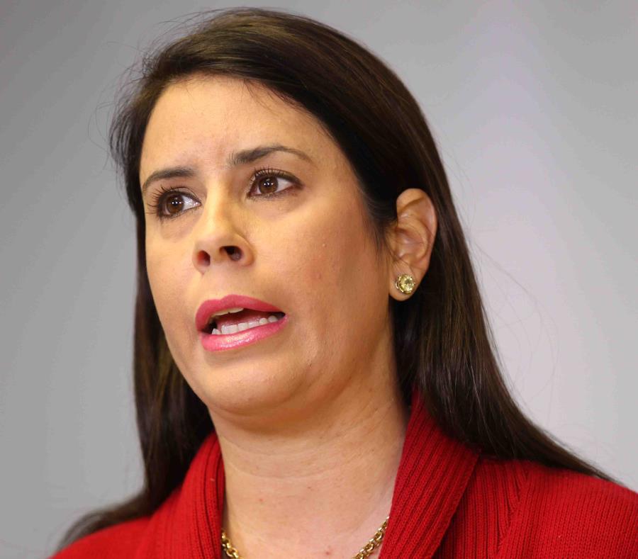 La presidenta interina del PPD, Brenda López de Arrarás (semisquare-x3)