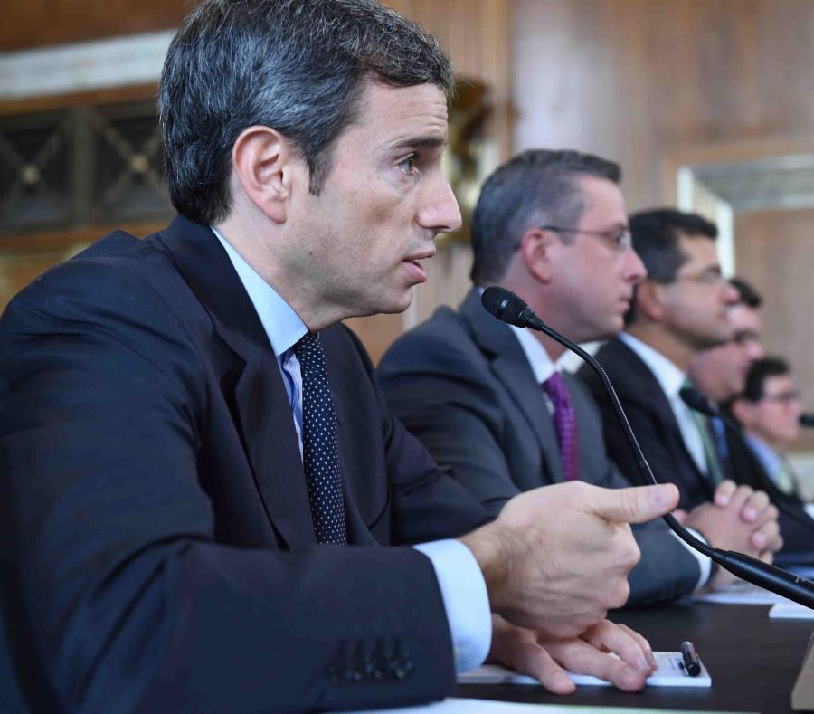 Antonio Weiss fue, el pasado cuatrienio, el consejero del entonces secretario del Tesoro, Jacob Lew. (GFR Media) (semisquare-x3)