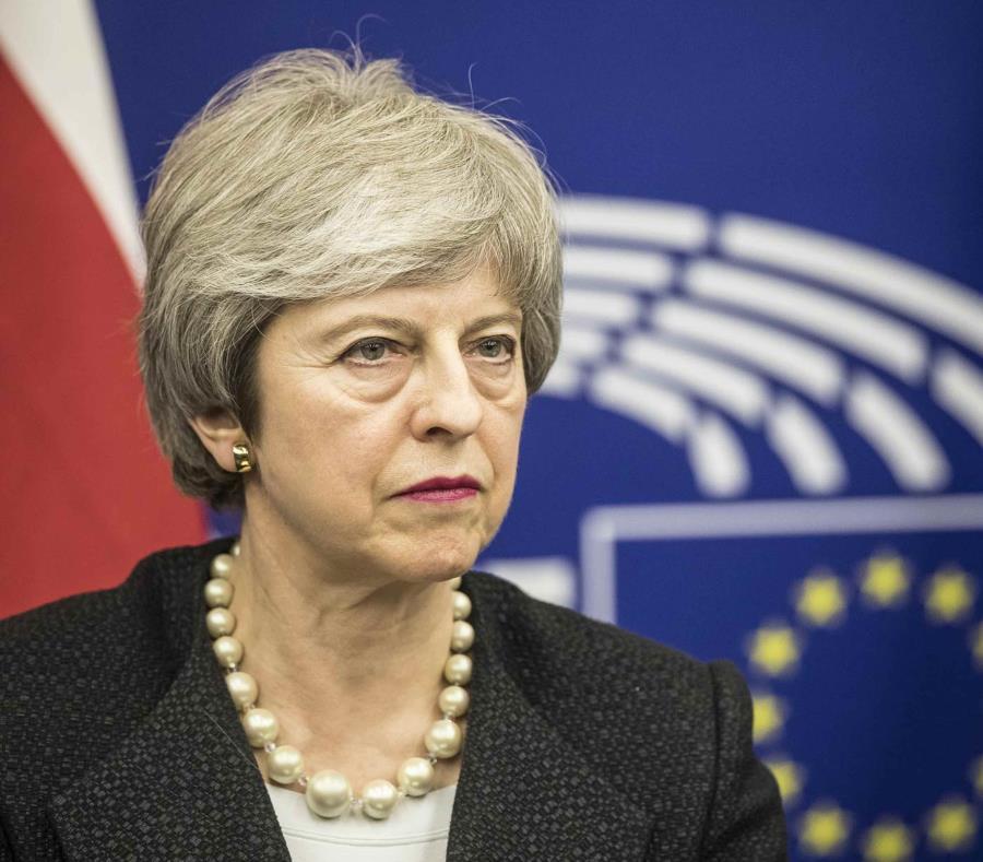Theresa May, primera ministra de Reino Unido (semisquare-x3)