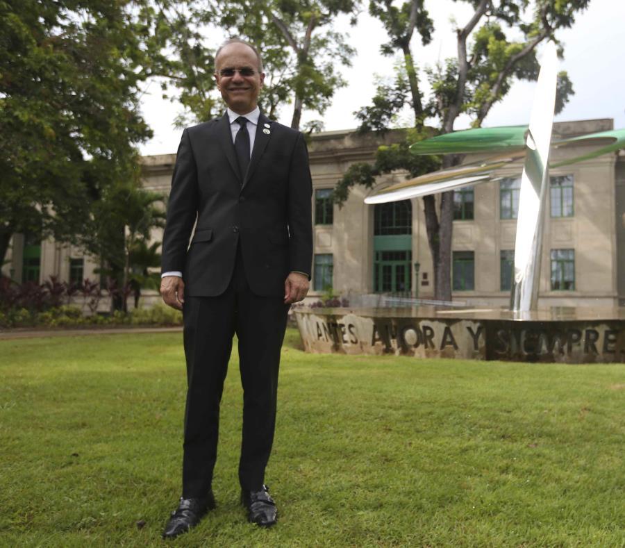 Jorge Haddock Acevedo asumió, el martes, el cargo de presidente de la UPR. El puesto estuvo vacante desde julio de 2016. (semisquare-x3)