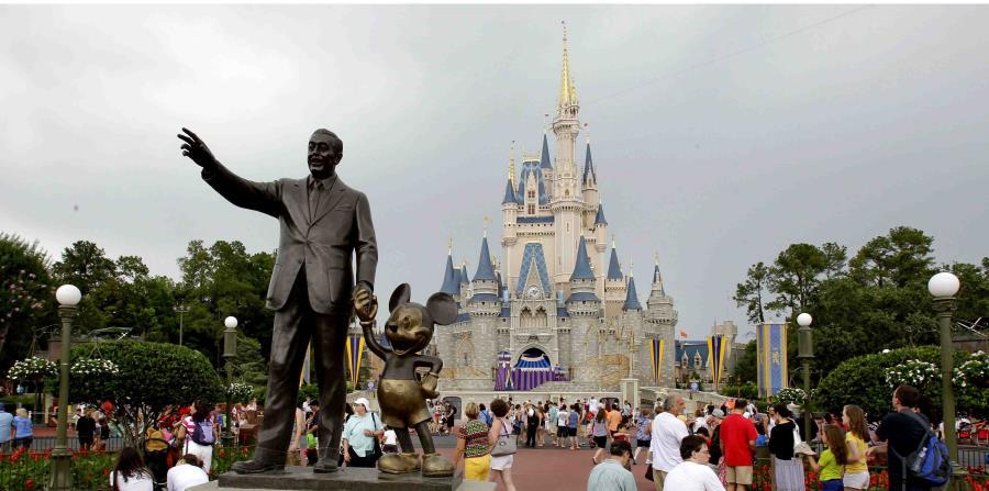 Una imagen el parque Magic Kingdon de Disney, en Florida (horizontal-x3)
