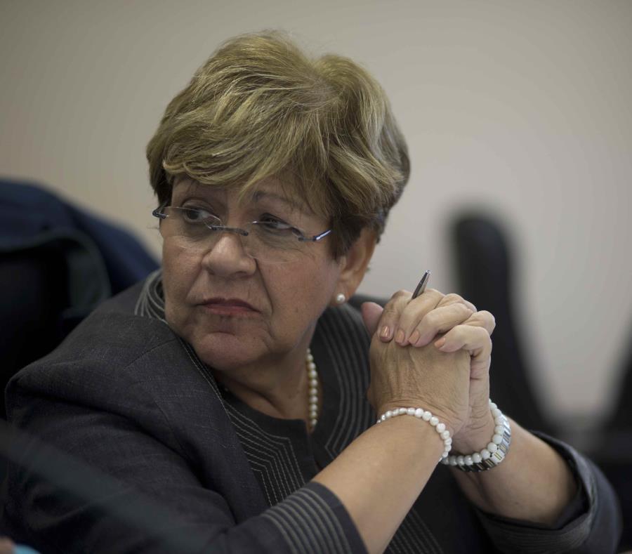 La alcaldesa de Ponce, María