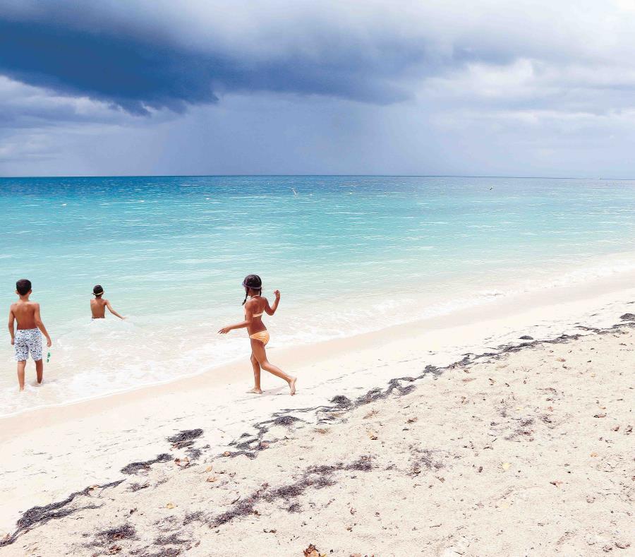La playa Buyé arrojó un alto contenido de enterococos. (semisquare-x3)