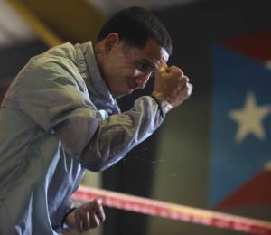 """""""Manny"""" Rodríguez termina la parte pesada de su entrenamiento"""