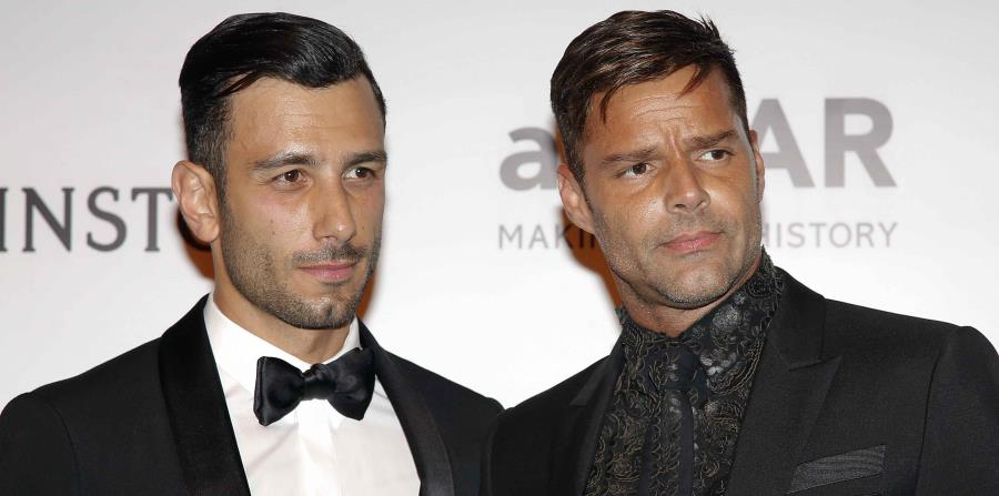 Ricky Martin está comprometido con el artista Jwan Yosef. (horizontal-x3)