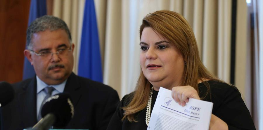 """Despite the pressures, the resident commissioner in, Jenniffer González, said yesterday there is a preliminary agreement in the leadership of the US House of Representatives to grant a """"funding bridge"""" of $582 million for Puerto Rican fiscal year 2017-201 (horizontal-x3)"""
