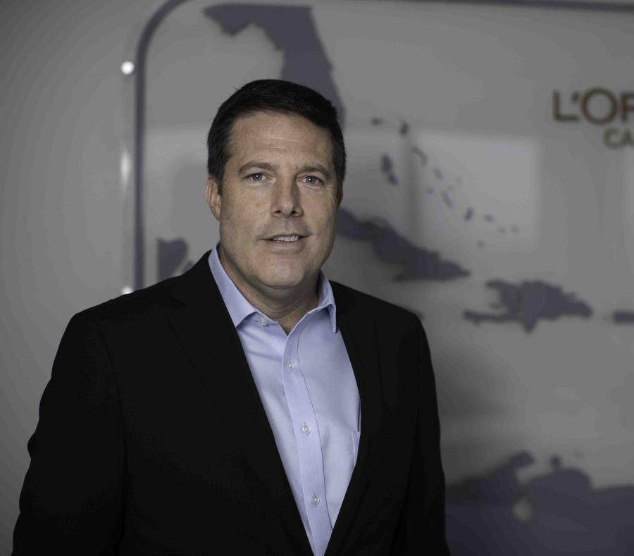 En la foto está Dave Hughes, gerente general de L'Oréal Caribe. (semisquare-x3)