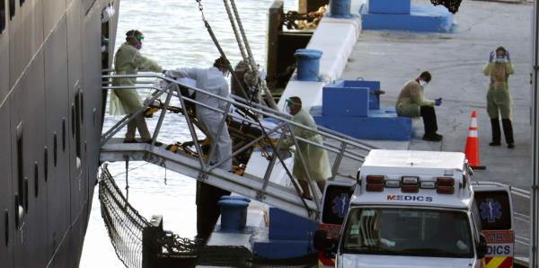 Desembarca en Florida un crucero en el que murieron dos pasajeros con COVID-19