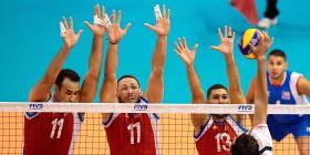 Pierde la Selección Nacional masculina en el inicio del Preolímpico de voleibol