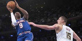 Novato de los Knicks vive la debacle del equipo