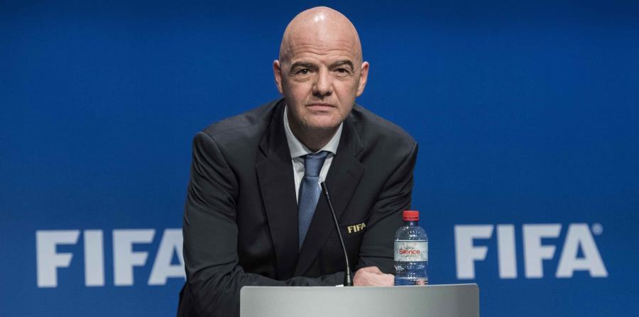 Gianni Infantino, presidente de la Federación Internacional de Fútbol Asociado (FIFA). (horizontal-x3)