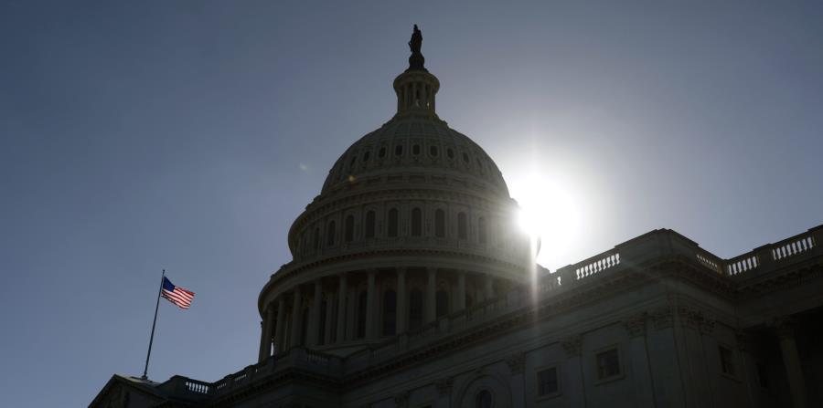 Fachada del Capitolio de Estados Unidos, en Washington D.C. (horizontal-x3)