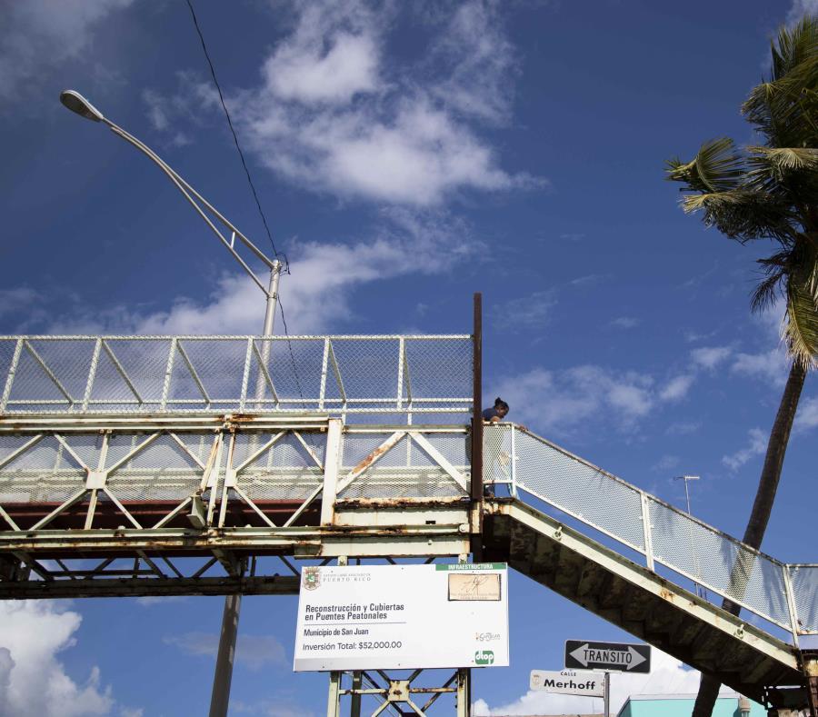 Los puentes permanecerán cerrados porque no son seguros. (GFR Media) (semisquare-x3)