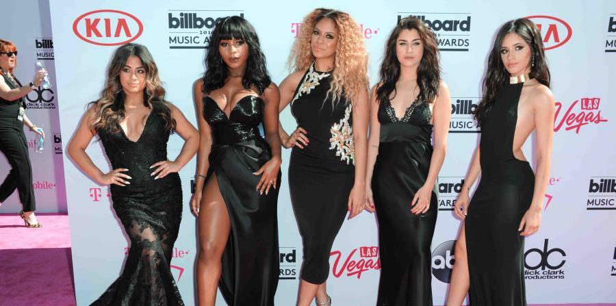 La agrupación con Camila Cabello en el 2016. (AP) (horizontal-x3)