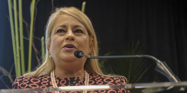 """""""Yo vengo del pueblo"""", asegura Wanda Vázquez a sus seguidores"""