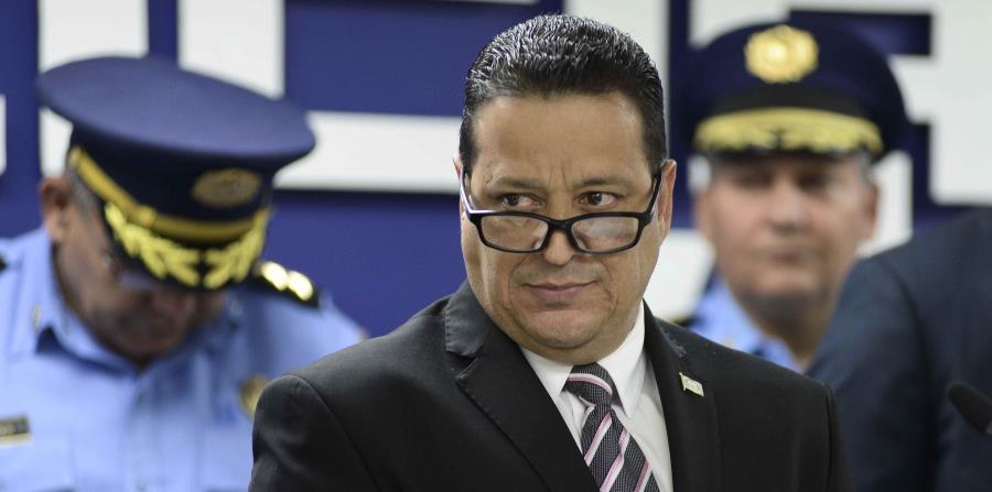 El comisionado de la Policía, Henry Escalera (horizontal-x3)
