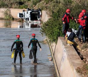 Hallan el cuerpo del niño desaparecido en las inundaciones de Mallorca