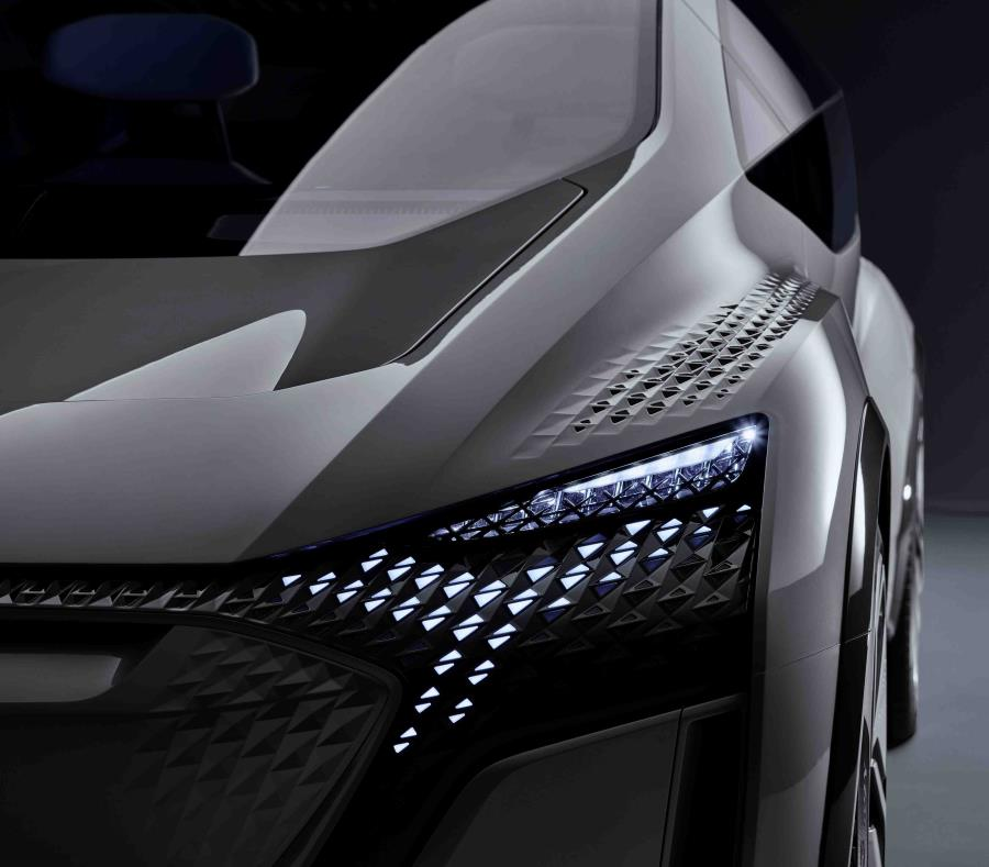 Detalle de lo que será el prototipo Audi AI:ME. (Suministrada) (semisquare-x3)