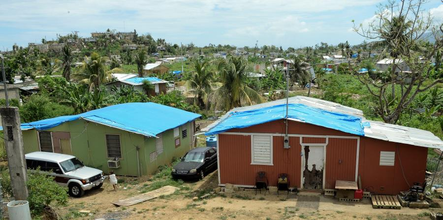 La comunidad Villa Hugo II en Canóvanas fue una de las más afectadas por el huracán María. (horizontal-x3)
