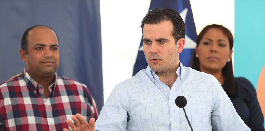 El gobernador de Puerto Rico, Ricardo Rosselló Nevares (horizontal-x3)