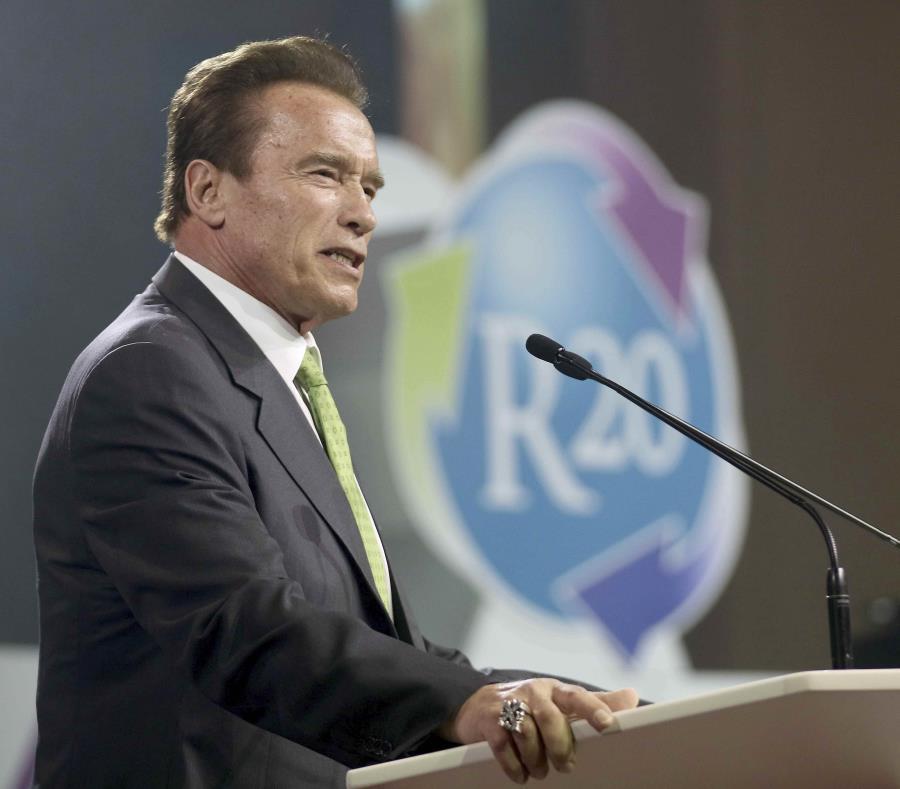 Schwarzenegger durante una actividad en mayo pasado en Australia. (AP) (semisquare-x3)