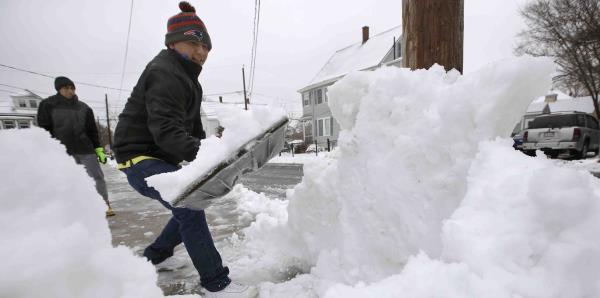 Tormenta de nieve afecta a Estados Unidos