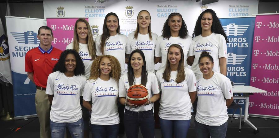 La Selección Nacional de baloncesto femenino que jugará en e la AmeriCup 2019