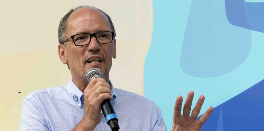 El jefe del Comité Nacional Demócrata, Tom Perez (horizontal-x3)