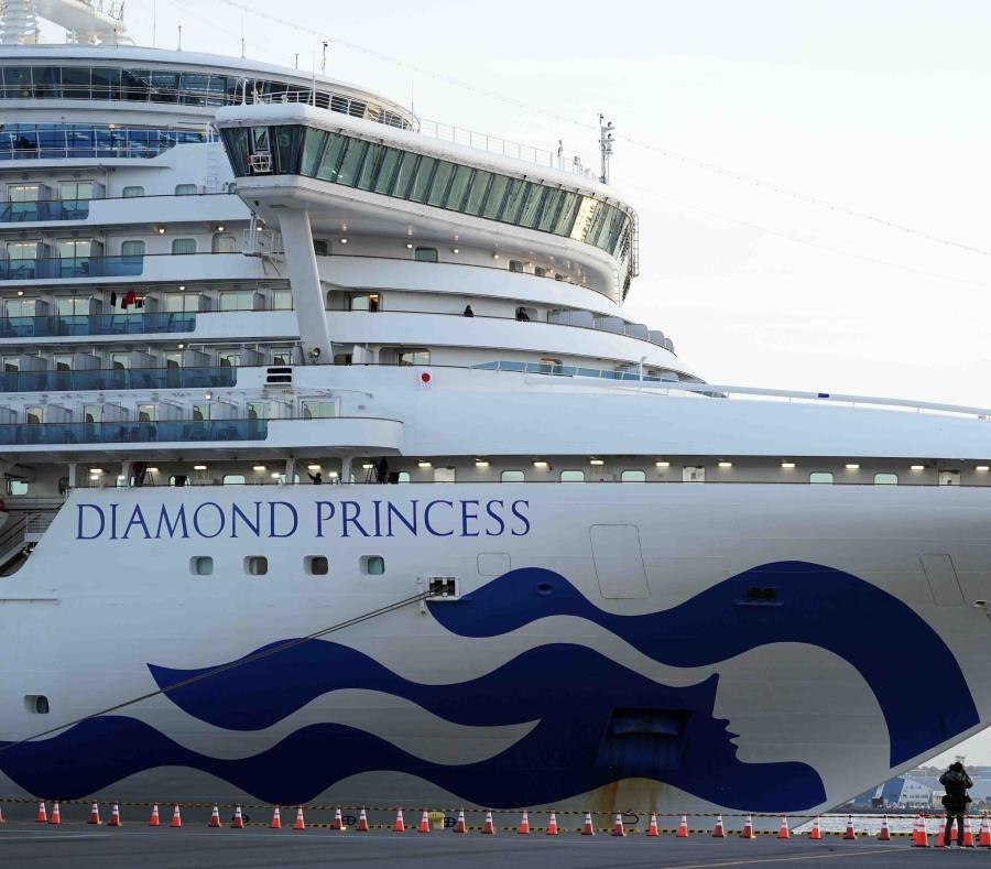 El coronavirus sobrevivió 17 días a bordo del crucero Diamond Princess
