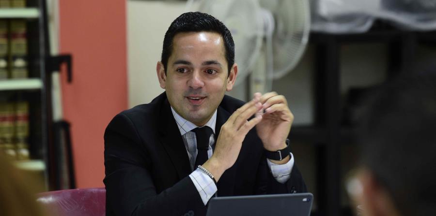 El secretario del DCR, Erik Rolón (horizontal-x3)