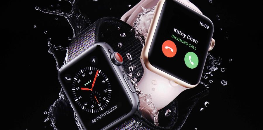 El anuncio se hizo en el nuevo teatro Steve Jobs. (AP / Marcio José Sánchez) (horizontal-x3)