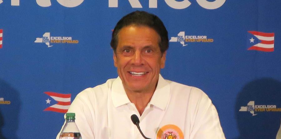 El gobernador de Nueva York, Andrew Cuomo (horizontal-x3)