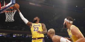 LeBron James se acerca a la marca de puntos de Kobe Bryant