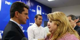 Jenniffer González le da la bienvenida a la aspiración a la gobernación de Pedro Pierluisi