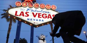 Cae nieve en Las Vegas por primera vez en una década
