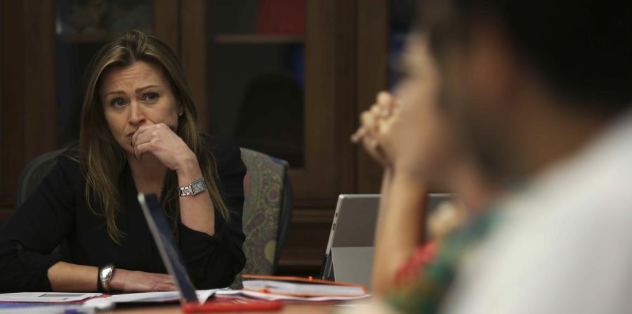 La secretaria de Educación, Julia Keleher (horizontal-x3)