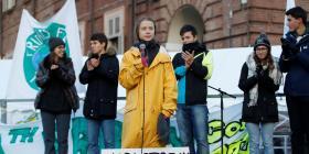 Donald Trump le dice a Greta Thunberg que debería concentrarse en otros países y no en Estados Unidos