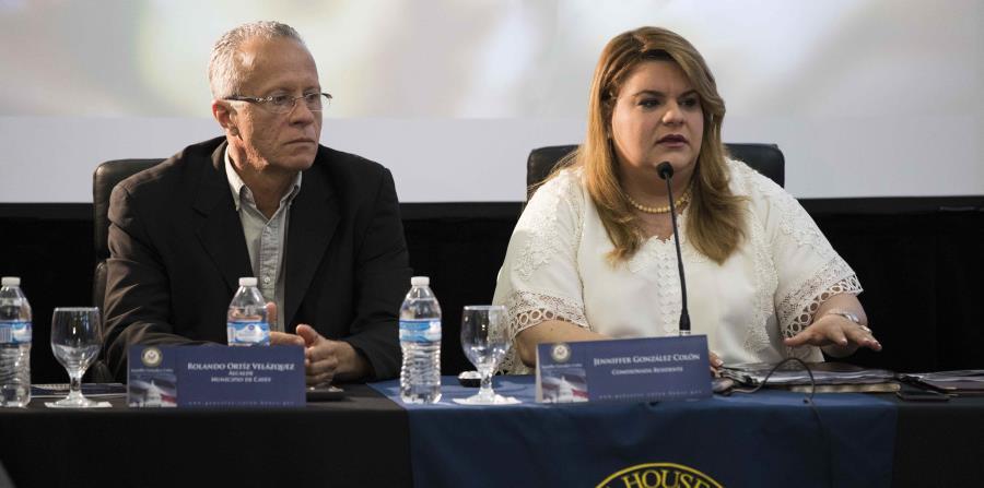 La comisionada residente Jenniffer González recibió el apoyo de la organización sobre el proyecto que busca la estadidad para Puerto Rico. (horizontal-x3)