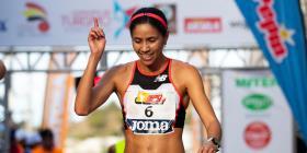 Beverly Ramos apunta al Campeonato Mundial de Atletismo