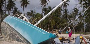 Cabo Rojo también resintió el fuerte impacto de María
