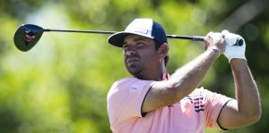 Decepcionado Rafa Campos con su inicio en el Puerto Rico Open