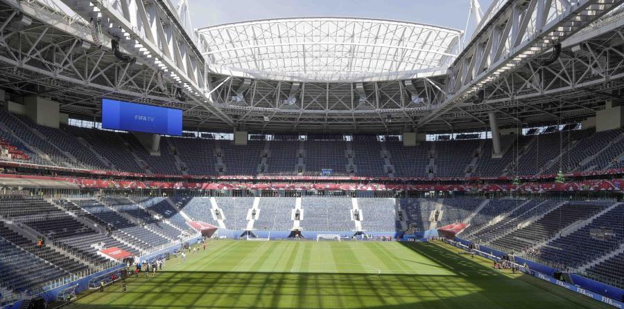 Estadio de San Petersburgo donde se jugará el partido inaugural de la Copa Confederaciones entre Rusia y Nueva Zelanda. (horizontal-x3)