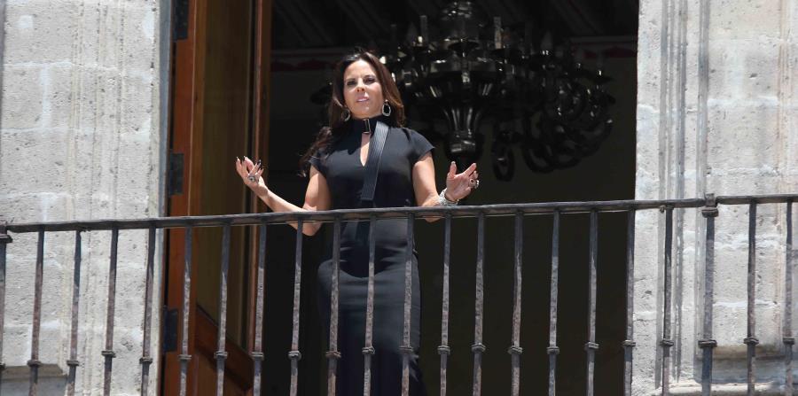 La actriz durante una escena de la película.  (EL UNIVERSAL/ GDA / Carlos Mejía) (horizontal-x3)
