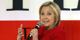 Explosiva reaparición de Hillary Clinton