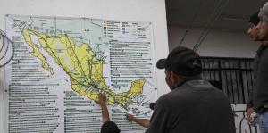 La caravana de migrantes avanza hacia la Ciudad de México