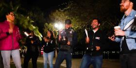 La diáspora boricua en Florida se une a las protestas contra Wanda Vázquez