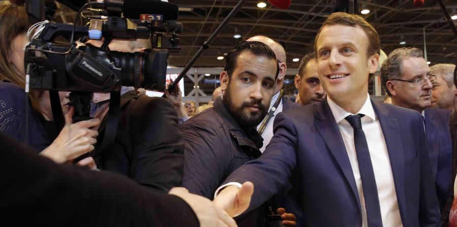 El creciente malestar obligó al portavoz de Macron a abordar el asunto el jueves, más de dos meses y medio después de los hechos. (horizontal-x3)